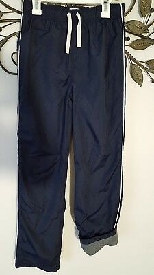 Children's Place Boys Lined Navy Athletic Wind Pants Size XL 14- BTS!