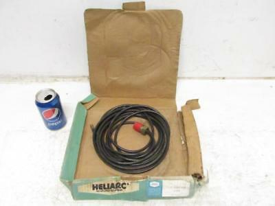 Heliarc Union Carbide 45V04 Tig Torch Water Cooled Power Cable 25' Ft. NEW
