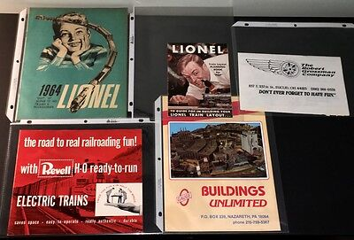 Lionel 1964 & Revell 1956 Train Catalog Lot + Others!
