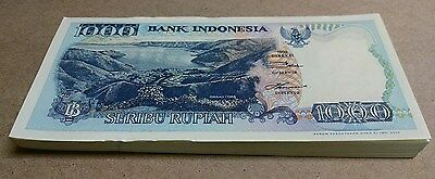 Lot of 99 pieces Indonesia Banknote 1000 Rupiah 1992 UNC - BINo