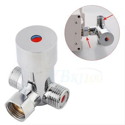 1pc Hot Cold Water Temperature Control Thermostatic Mixing Valve Sensor Faucet