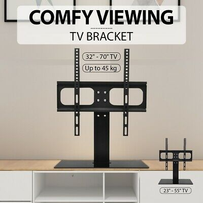 "vidaXL TV Bracket Stand 23""-55""/32""-70"" Tabletop Desktop Mounting LED/LCD VESA"