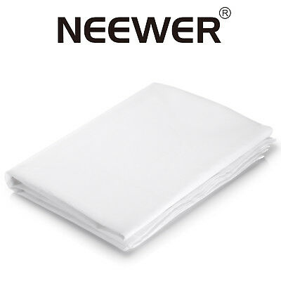 Neewer 20x5 ft/6x1.5m Nylon Silk White Diffusion Fabric for Photography Softbox