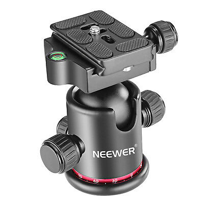 Neewer Pro Metal 360° Ball Head Panoramic for Tripod Monopod Slider DSLR Camera
