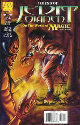 Legend of Jedit Ojanen on the World of Magic: The Gathering #2 VF/NM Armada - sa