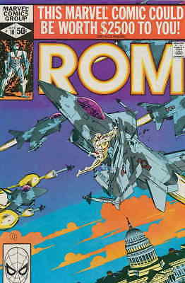 Rom #10 VF/NM Marvel - save on shipping - details inside