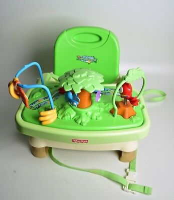 Fisher Price Rain Forest Healthy Care Booster Seat-Perfect-Hardly Used