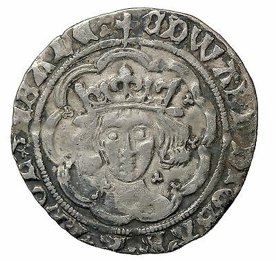 Edward IV 1464-1470 AD Great Britain Light Coinage Silver Half Groat S.2003