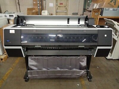 "Epson Stylus Pro 9700 K162A 44"" Wide Format Color Printer Usb 1750 Page Count"