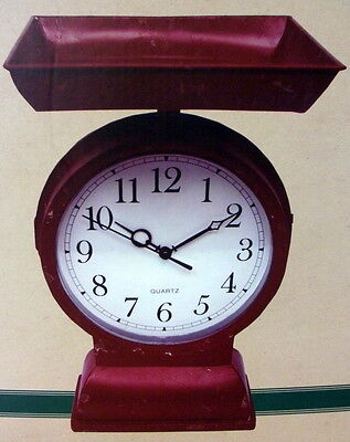 Cracker Barrel Farm To Table Reproduction Antique Scale Clock - New In Box