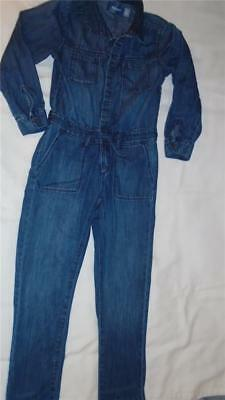 Girls Size M 8 Old Navy Outfit Romper Coveralls Jean Jumpsuit from the 2016 Line