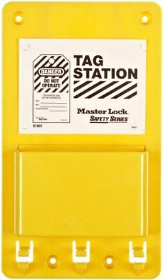 Master Lock Lockout Tag Holder, Unfilled New