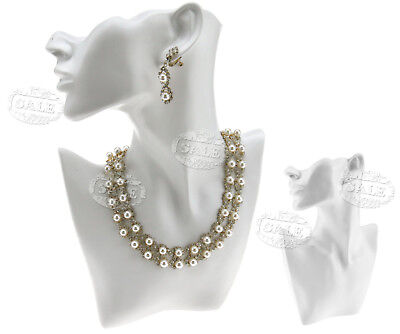 Fashion Necklace Bust Pendant Earring Jewellery Shop Display Stand Figurine