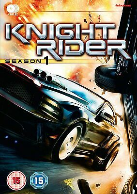 KNIGHT RIDER 2008-2009: COMPLETE NEW TV Season Series in English EURO DVD not US