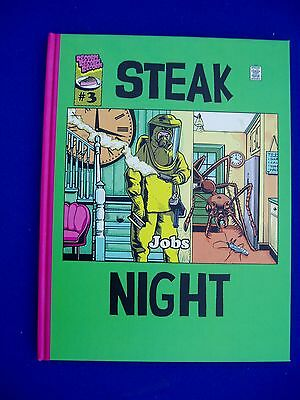 Steaknight 3: Anthology of alternative and avant-garde graphic stories.  HC. New