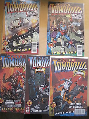 DOCTOR TOMORROW :COMPLETE 5 ISSUE SERIES by LAYTON,MALEEV.VALIANT / ACCLAIM.1997