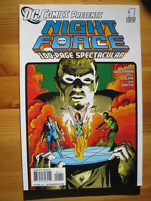 NIGHT FORCE. 100 page CLASSIC ONE-SHOT by MARV WOLFMAN & GENE COLAN. DC. 2011