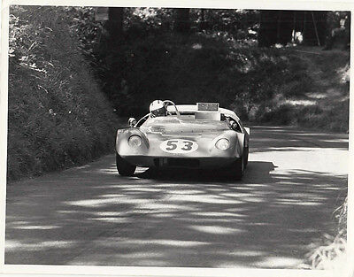 SPORTS CAR No.53 RACING AT HILL CLIMB PHOTOGRAPH, BY GUY GRIFFITHS.