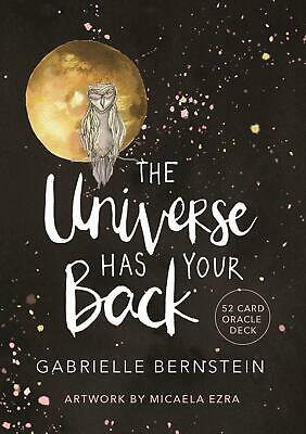 The Universe Has Your Back: A 52-card Deck by Gabrielle Bernstein Free Shipping!