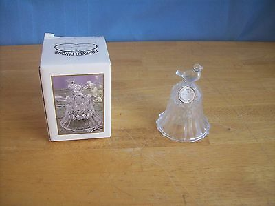 Forever Favors Song Bird 24% Lead Crystal Bell NEW IN BOX