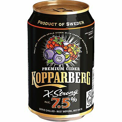 72x KOPPARBERG WILDBEERE WILDBERRIES 7,5% CIDER DOSEN 0,33l
