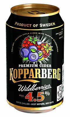 24x KOPPARBERG WILDBEERE WILDBERRIES 4,5% CIDER DOSEN 0,33l