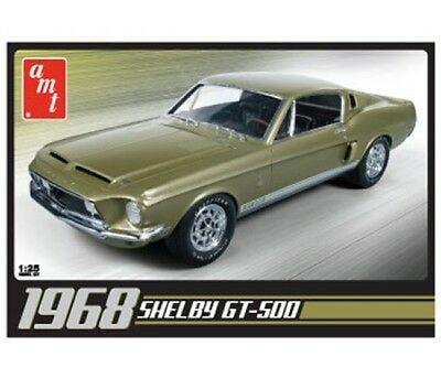 1968 Shelby GT-500 1/25 scale skill 2 AMT plastic model kit#634