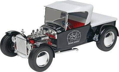 Black Widow Model T Hot Rod 1/24 scale skill 2 Revell model kit#4324