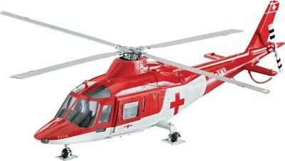 Agusta A109K2 Rescue Helicopter 1/72 scale skill 3 Revell plastic model kit#4941