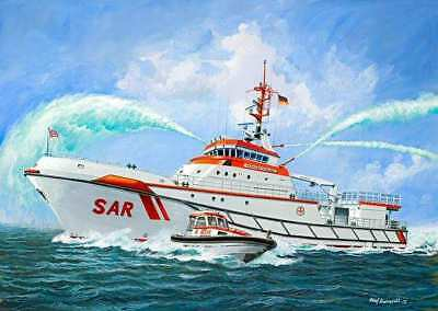 DGzRS Hermann Marwede Search and Rescue Ship 1/72 scale skill 5 Revell kit#5220