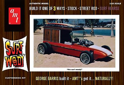 George Barris Surf Woody 1/25 scale skill 3 AMT kit#977