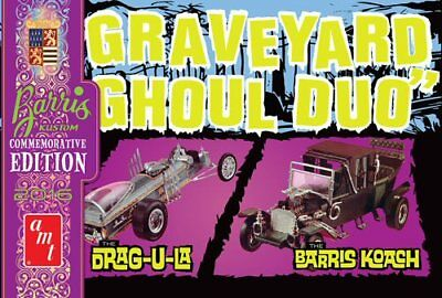 Graveyard Ghoul Duo George Barris Commemorative Edition 1/25 scale AMT #1017