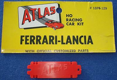 ATLAS MOTORING HO SCALE SLOT CAR RACING CHASSIS PARTS RED MIDGET M179 WORM GEAR