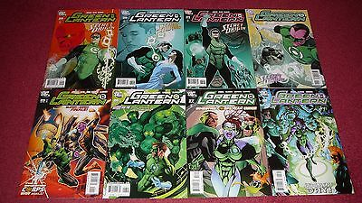 GREEN LANTERN (4th series) lot, 8 issues, #s 25-32 (DC, 2008) NR!