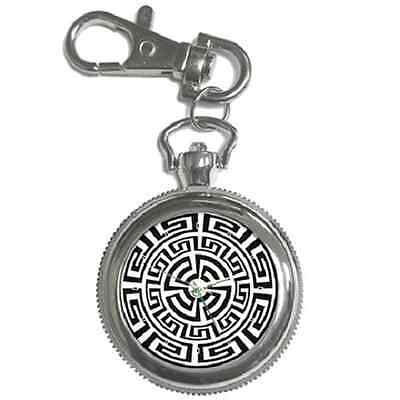 Aztec Circle Art Pattern Keychain Watch **great Gift Idea**