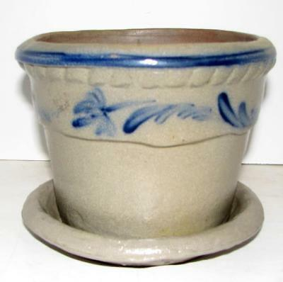 Rowe Pottery Round Flower Pot 1999 / Retired