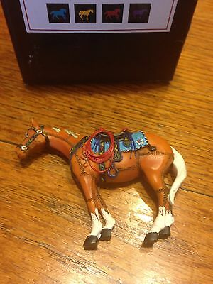 Trail Of Painted Ponies Magnet HAPPY TRAILS mint in original box