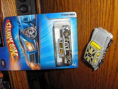 Vintage Lot of 2 Different Hot Wheels Classic Ford Anglia Coupes Free Shipping