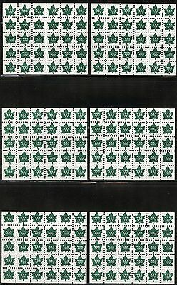 Jewish National Fund Maple Leaf  Lot Of 14  Sheets  Of Thirty  Mint Nh