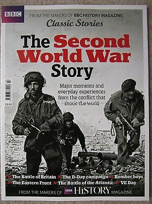 BBC History magazine The Second World War 2 II Story D-Day VE Classic Stories