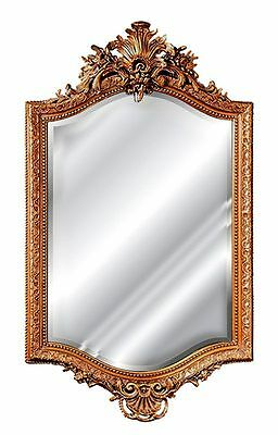 18th Century French Wall Mirror Made in USA in 40 Colors
