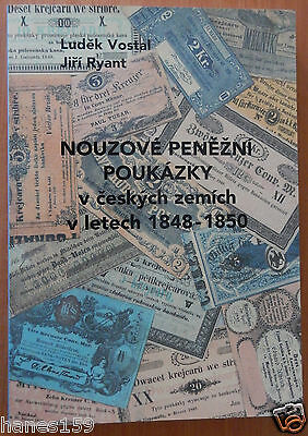 CZECH REPUBLIC NECESSITY PAPER MONEY Catalogue to the 1848 - 1850 years