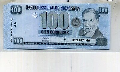 Nicaragua 2006 100 Cordobas Currency Note Cu 4620D