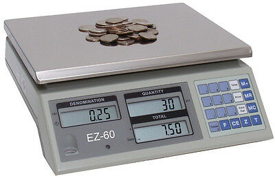 Coin Counting Scale Coin Scale Vending Coin Counter