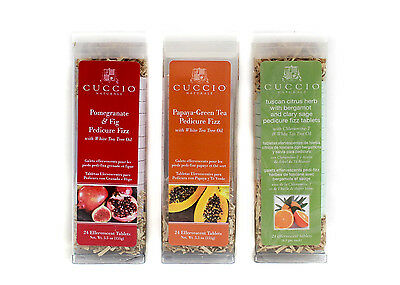 Cuccio Naturale PEDICURE EFFERVESCENT TABLET 24ct/pk Variation of your Choice