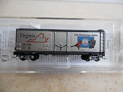 Micro Trains ~ Virginia State Car 40' Box Car #1788 ~ Z Scale