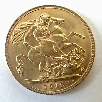 Great Britain Sovereign, 1912