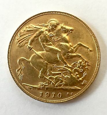Great Britain Sovereign, 1910