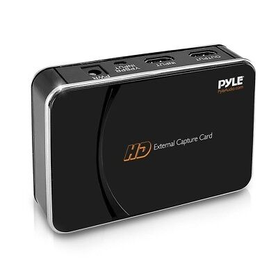Pyle PHDRCB26 HD External Capture Card Recording System for Video Game Consoles