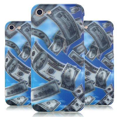 3D Dollar Pattern Ultra Thin Soft TPU Rubber Case Cover Skin For iPhone 7 7 Plus